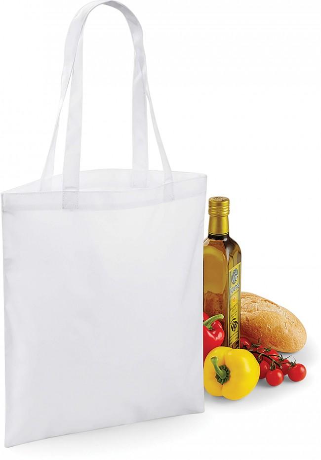Sac shopping pour la sublimation BG901 - White en vente chez Textile Direct