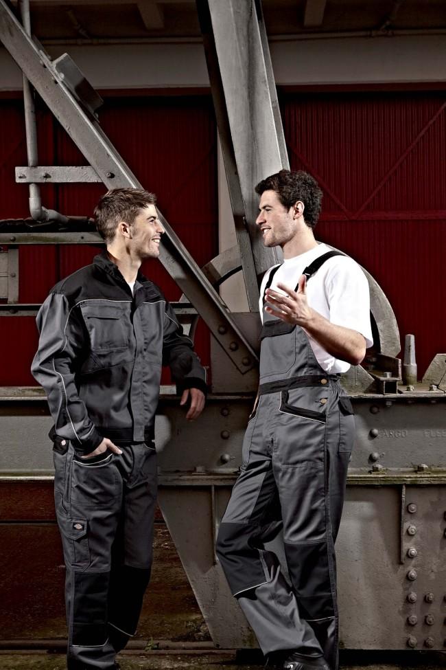 Salopette de travail Industry 260 IN4001 - Grey / Black en vente chez Textile Direct