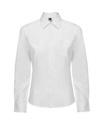 Chemise femme manches longues SOFIA L/S blanc