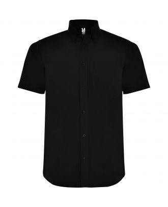 Chemise manches courtes AIFOS noire