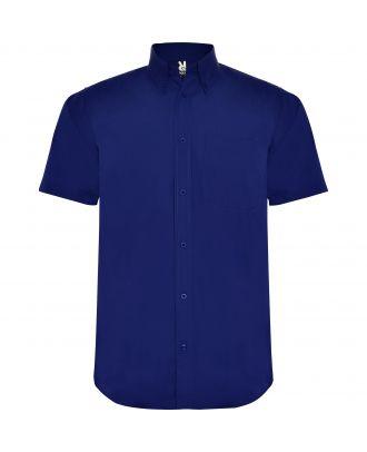 Chemise manches courtes AIFOS bleutée