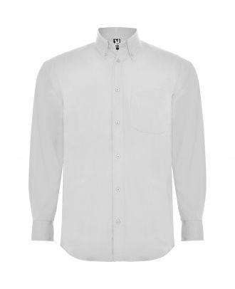 Chemise homme manches longues AIFOS L/S blanc