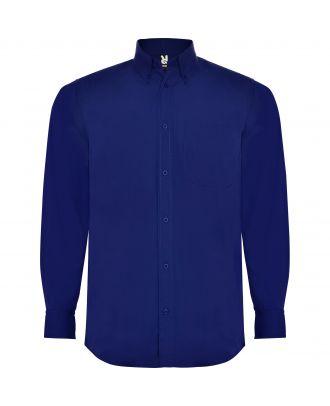 Chemise homme manches longues AIFOS L/S bleuté