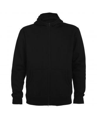 Sweat-shirt capuche avec fermeture éclair MONTBLANC noir
