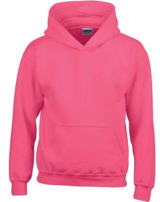 Sweat-shirt enfant à capuche Heavy Blend™ 18500B - Heliconia