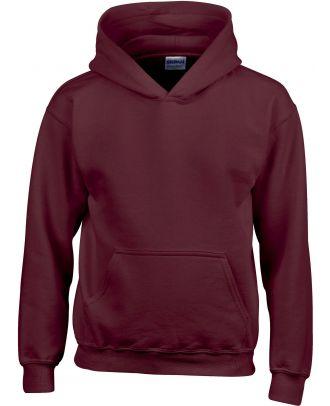 Sweat-shirt enfant à capuche Heavy Blend™ 18500B - Maroon