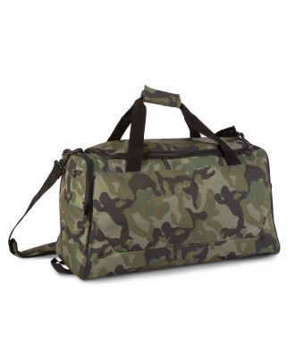 Sac de sport KI0617 - Olive Camouflage de travers