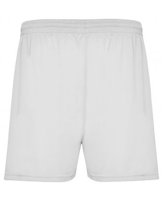 Short sport CALCIO blanc