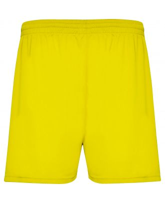 Short sport CALCIO jaune