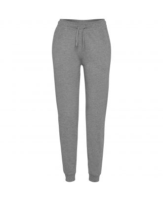 Pantalon femme de survêtement ADELPHO WOMAN gris chiné