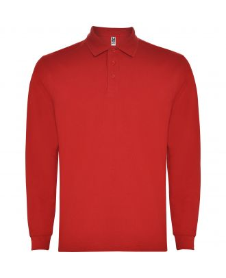 Polo homme manches longues CARPE ROUGE