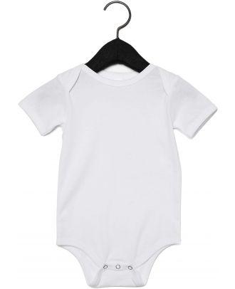 Body manches courtes bébé - White