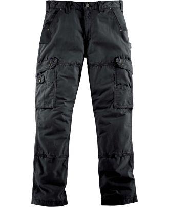 Pantalon de travail Cargo renforcé Ripstop B342 - Black
