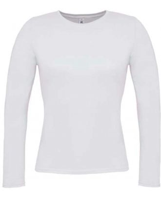 T-shirt femme manches longues women only LSL TW013 - White