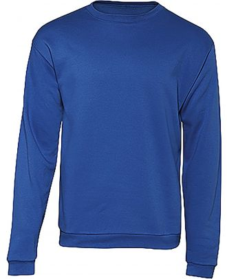 Sweatshirt col rond ID.202 WUI23 - Royal Blue recto