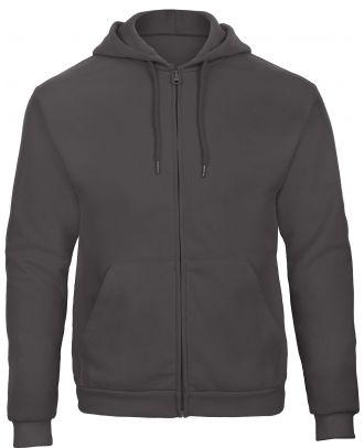 Sweatshirt capuche zippé ID.205 - Anthracite