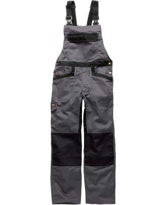 Salopette de travail Industry 260 IN4001 - Grey / Black