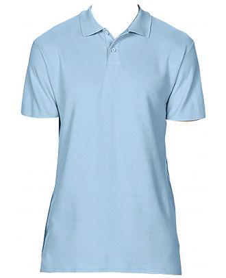 Polo homme Softstyle double piqué GI64800 - Light Blue