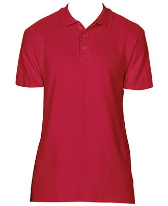 Polo homme Softstyle double piqué GI64800 - Red