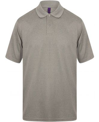 Polo homme Coolplus H475 - Heather Grey