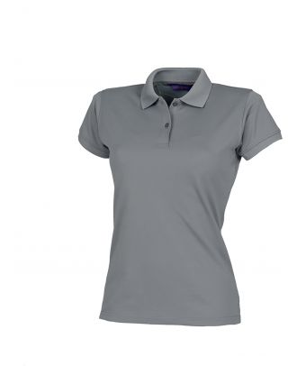 Polo femme Coolplus H476 - Charcoal