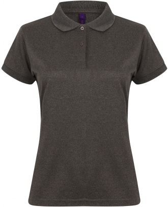 Polo femme Coolplus H476 - Heather Charcoal