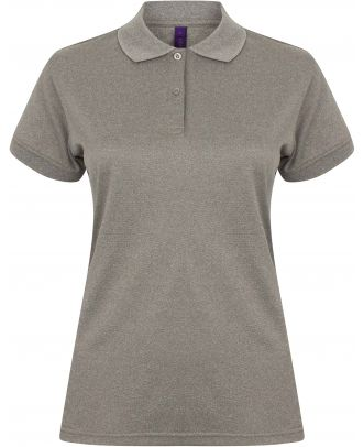 Polo femme Coolplus H476 - Heather Grey