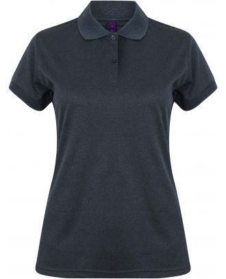 Polo femme Coolplus H476 - Heather Navy