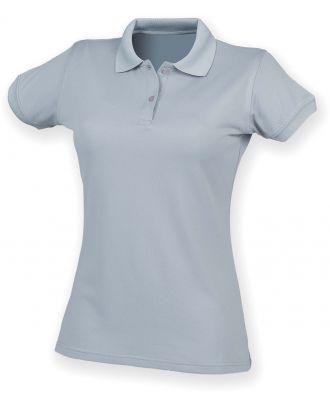 Polo femme Coolplus H476 - Silver Grey