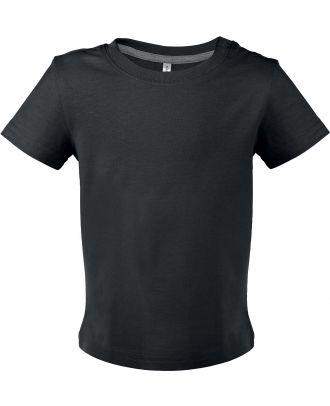 T-shirt bébé manches courtes K363 - Black