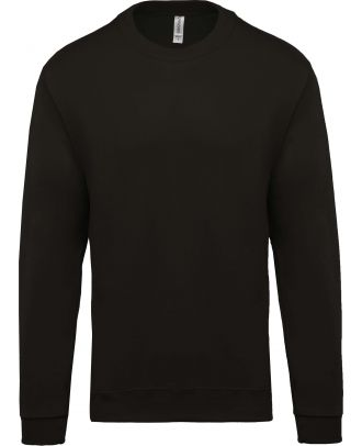 Sweat-shirt unisexe col rond K474 - Dark Grey