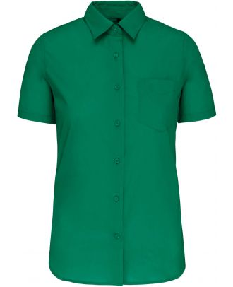 Chemise manches courtes femme Judith K548 - Kelly Green