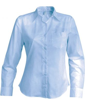 Chemise manches longues femme Jessica K549 - Bright Sky