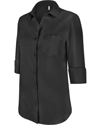 Chemise manches 3/4 femme K558 - Black