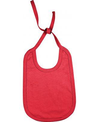 Bavoir bébé coton K832 - Red