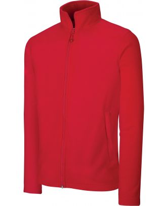 Veste micropolaire zippée K9102 - Red