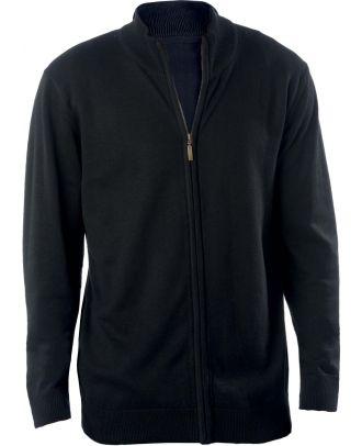 Cardigan homme zippé K961 - Black