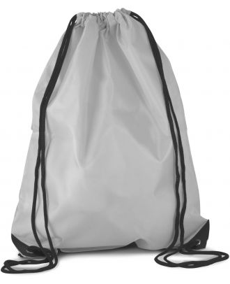 Sac à dos avec cordelettes KI0104 - GLACIER GREY - 44 x 34 cm
