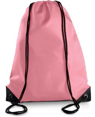 Sac à dos avec cordelettes KI0104 - Pink - 44 x 34 cm