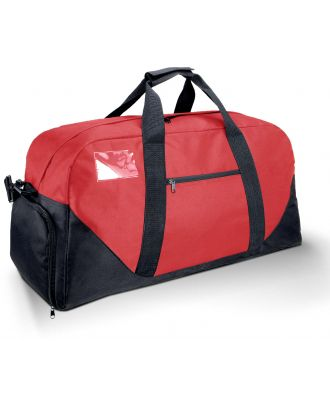 Sac paquetage KI0610 - Red / Black - 70 x 30 x 32 cm