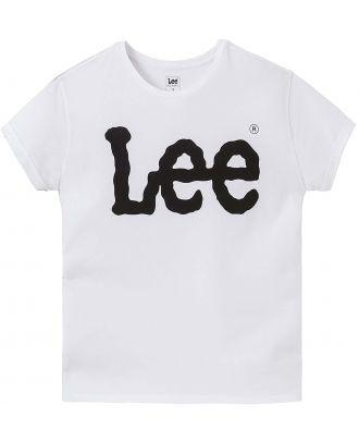 T-shirt femme logo LEE L40 - White