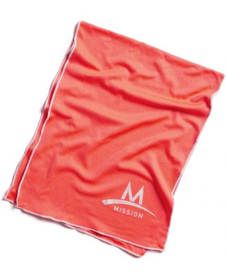 Serviette Techknit EnduraCool™ - Highvision Coral