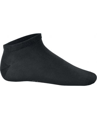 Socquettes sport Bambou PA037 - Black