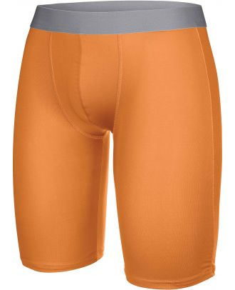Sous-short long sport PA007 - Orange