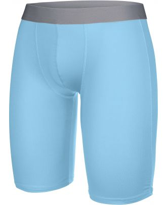 Sous-short long sport PA007 - Sky Blue