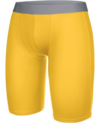 Sous-short long sport PA007 - Sporty Yellow