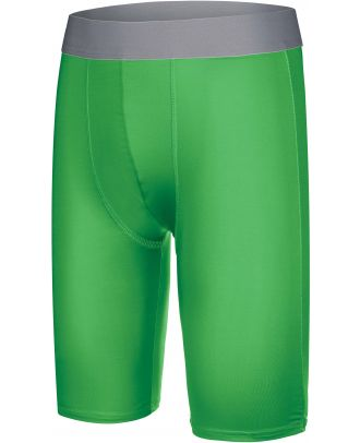 Sous-short long enfant sport PA008 - Green