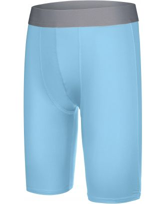 Sous-short long enfant sport PA008 - Sky Blue