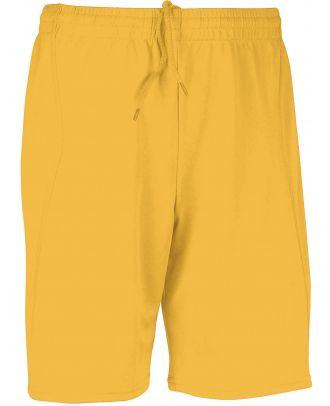 Short de sport PA101 - Sporty Yellow