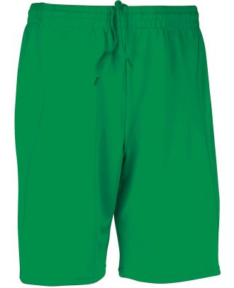 Short enfant de sport PA103 - Green